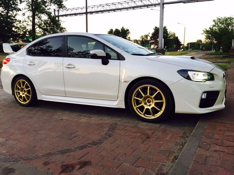 Felgi rajdowe Arcasting ZAR Subaru Impreza WRX STi
