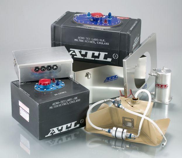 Bezpieczne zbiorniki paliwa i obudowy ATL Racing Fuel Cells Saver Cells