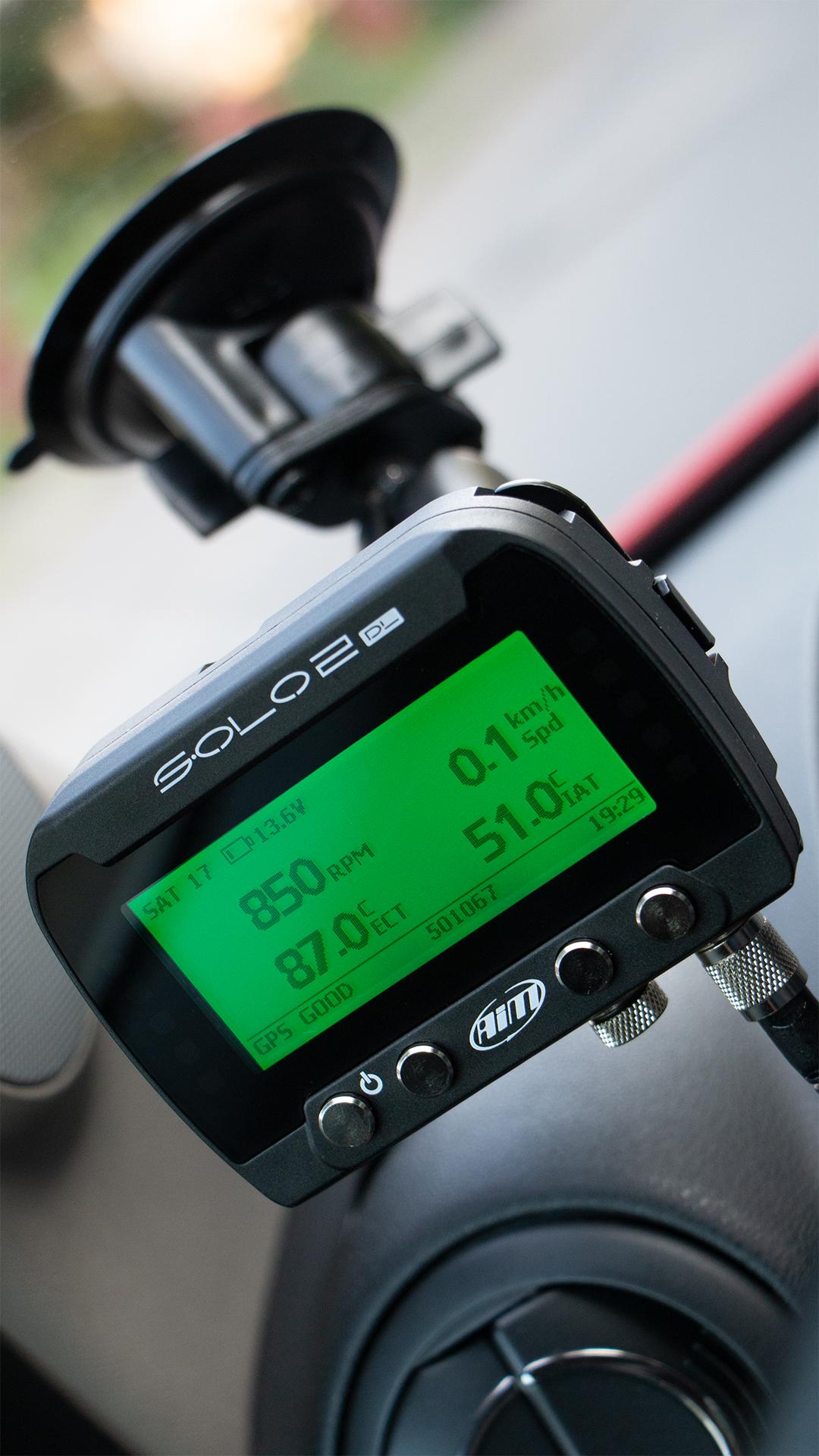 GPS Lap Timer AiM Solo 2 DL